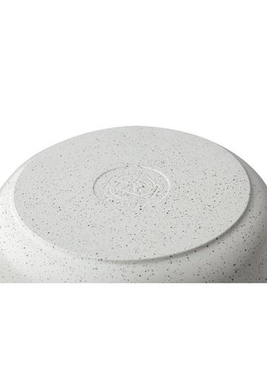 Taç Mutfak tac-dokum28derın Taç Gravita Döküm Derin Tencere 28 Cm Beyaz Tac-3427 Renkli
